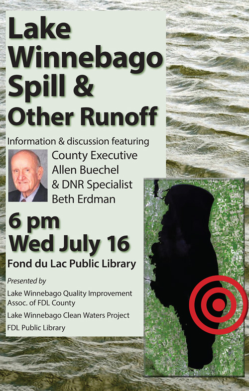 lake spill announcement