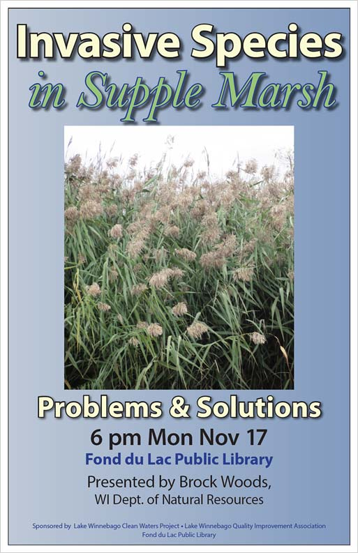 poster for Supple Marsh programs sponsored by FDL Library
